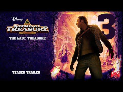National Treasure 3: The Last Treasure - Official Trailer 2021 Disney / FanMade