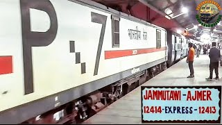 Nonton 12413 Ajmer TO Jammu tawi Pooja s.f express arriving Change engine &Departing from old Delhi station Film Subtitle Indonesia Streaming Movie Download