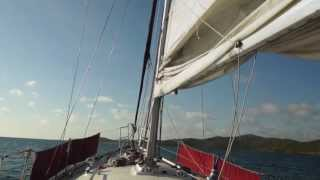 Sailing in Port Moresby