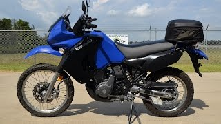 9. 2009 Kawasaki KLR 650 in BLUE  SOLD