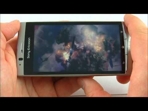Sony Ericsson Xperia arc - odtwarzanie wideo w 720p i DivX