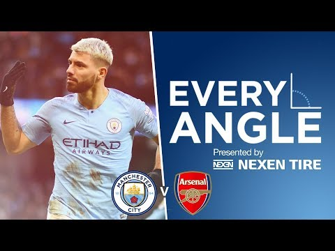 Video: EVERY ANGLE | Sergio Aguero vs Arsenal