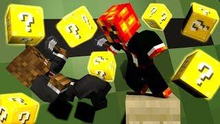 Minecraft Modded Minigame: EPIC LUCKY BLOCK SPLEEF! - w/Preston&Friends!
