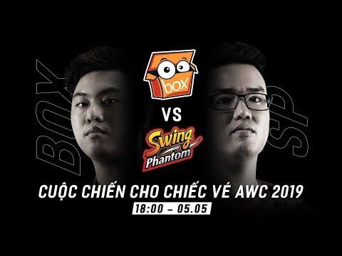 TỨ KẾT BOX GAMING vs SWING PHANTOM: Đại chiến cho tấm vé đến AWC 2019 - Garena Liên Quân Mobile - Thời lượng: 3:32.
