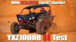 1. 2017 yamaha yxz1000r SE test review