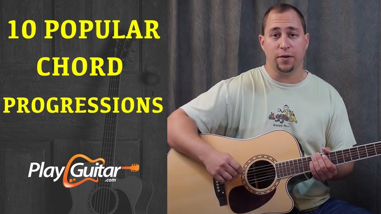 10 Popular Guitar Chord Progressions