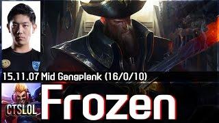 Xem Frozen quẩy nát team với Gangplank và những pha highlight đỉnh