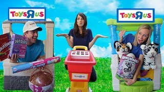 Video Silly Toy Store Workers Compete for a New Customer !!! MP3, 3GP, MP4, WEBM, AVI, FLV Juni 2018