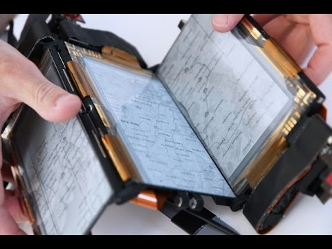 Paperfold is a foldable transformable smartphone