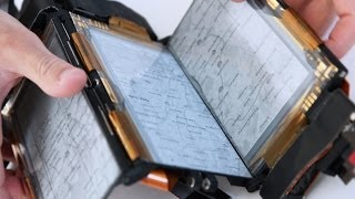 PaperFold: Foldable Smartphone Shows Shape-Shifting Future for Google Maps