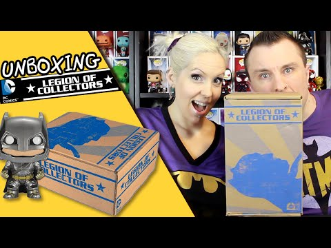DC Legion of Collectors BATMAN V SUPERMAN Unboxing Review