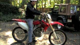 7. CRF 250X Before and After