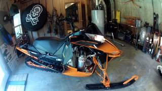 8. 2014 Arctic Cat XF 8000 High Country Limited with can
