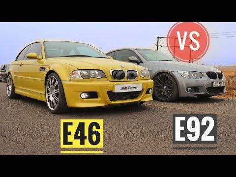 BMW M3 VS 335i (E46 VS E92)