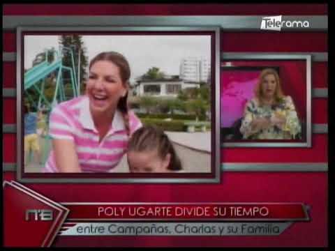 Líderes Empresariales: Poly Ugarte divide su tiempo entre campañas, charlas y su familia