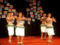 fiji dance - fijian girls dancing in india 3 - pate pate