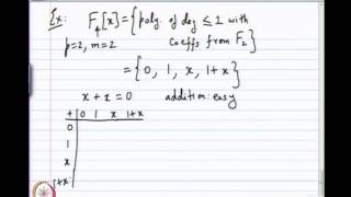 Mod-01 Lec-09 Construction Of Finite Fields