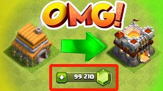 Video Clash Of Clans - RECORD BREAKING GEM SPREE IN CLASH OF CLANS! MP3, 3GP, MP4, WEBM, AVI, FLV Agustus 2017