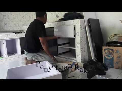 Pemasangan kabinet dapur my for Buat kitchen set sendiri