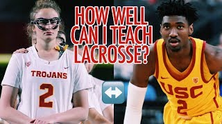 Trading Sports with a USC Basketball Star!! (Ft. Jonah Mathews)