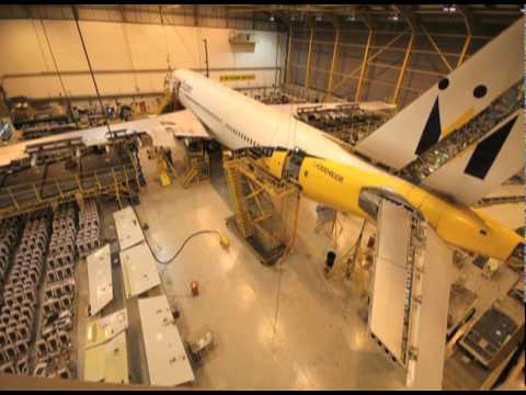 Monarch Timelapse Aircraft Maintenance Check – Airbus A300 at Monarch Aircraft Engineering Luton