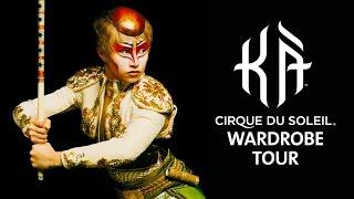 Video Wardrobe Tour at KÀ by Cirque du Soleil | KÀ: Behind the Blockbuster MP3, 3GP, MP4, WEBM, AVI, FLV Agustus 2018
