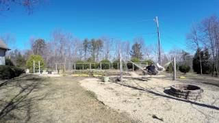Garden Hammock Time Lapse 4K - Ghost Ending Nap Lapse