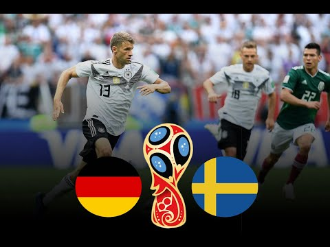 Germany vs Sweden 2018 FIFA World Cup Russia Match 27