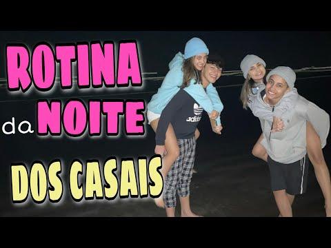 ROTINA DA NOITE DOS CASAIS - FEBYY & LUMILA