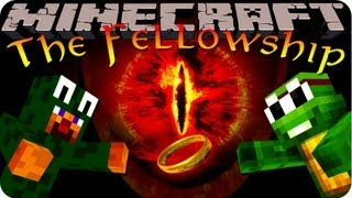 Minecraft Lord Of The Rings Mod Pack! The Fellowship Ep #2 EPIC DUNGEONS AND HANG GLIDERS!