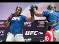 UFC 218: Francis Ngannou Open Workout (Complete) - MMA Fighting