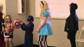 Kids Cosplay Contest from HOT Con 2016 - AFK Show