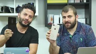En iyisi hangisi? iPhone 8 Plus ve Galaxy Note 8 karşı karşıya - Sürpriz hediyeli!