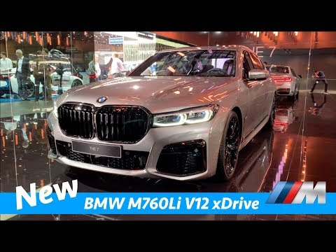 BMW M760Li XDrive V12 2019 - FIRST Exclusive Look | Almost Better Than S-Class?