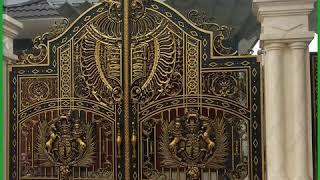 Một số mẫu cổng nhôm đúc