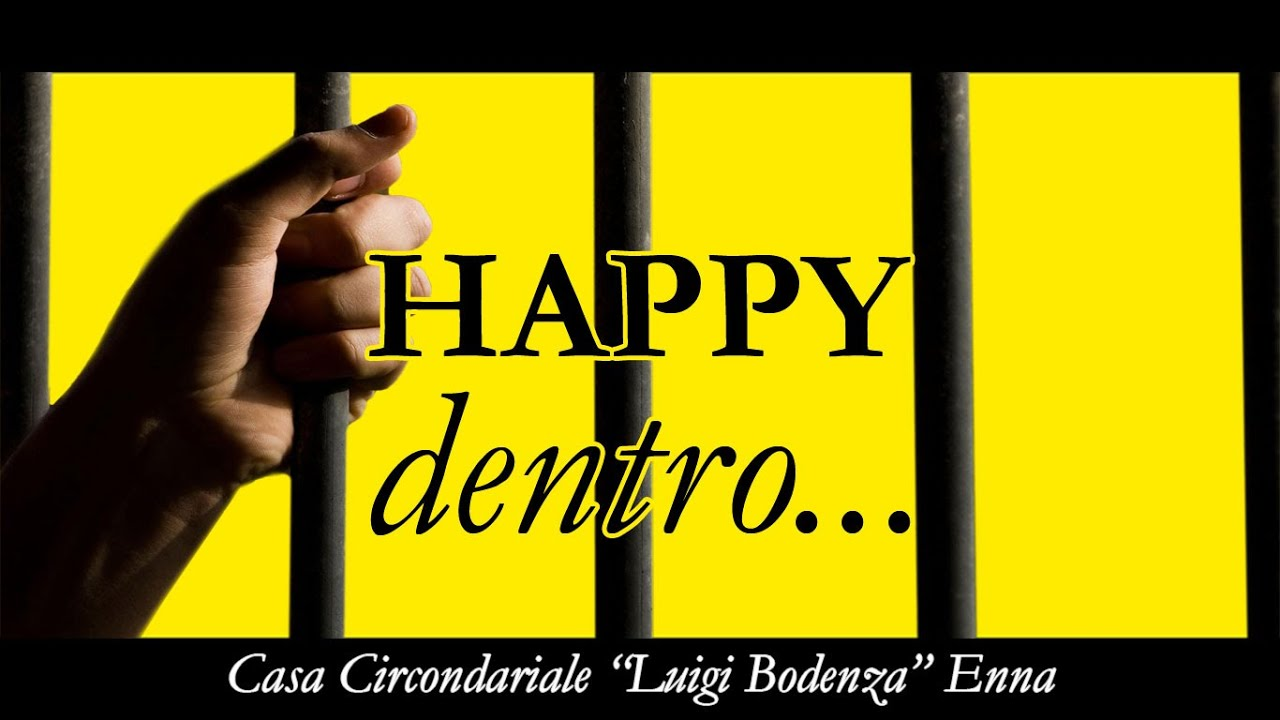 "I detenuti del carcere di  Enna ballano ""Happy"", primo video fatto in cella"