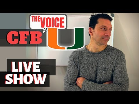 Miami Hurricanes LIVE 37 / ENOS FIRED?