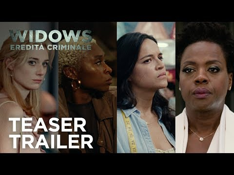 Preview Trailer Widows - Eredità Criminale, trailer ufficiale italiano