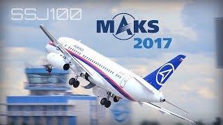 Download Video MAKS 2017 - SSJ100 Sukhoi Superjet amazing performance - HD50fps MP3 3GP MP4