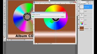 how to design CD VCD in photoshop speak khmer