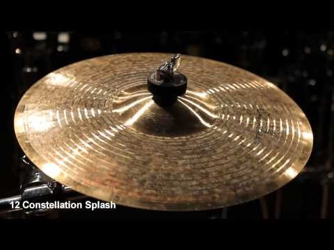 Supernatural Cymbals 12 Constellation Splash
