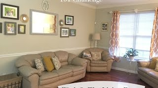 Home Organization 101 Challenge: The Livingroom
