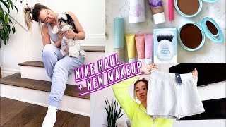 nike haul + new makeup!!       *i promise ill stop doing hauls lol by Alisha Marie Vlogs
