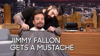 Video Jimmy Fallon Gets a Mustache MP3, 3GP, MP4, WEBM, AVI, FLV Januari 2018