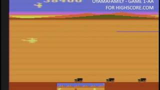 Chopper Command (Atari 2600 Emulated Expert/A Mode) by oyamafamily