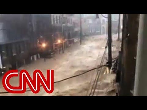 Heavy flooding ravages Baltimore-metro city