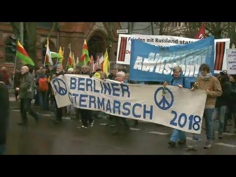 """Ostermärsche: """"Wir wollen für unsere Kinder Sicherheit"""""""