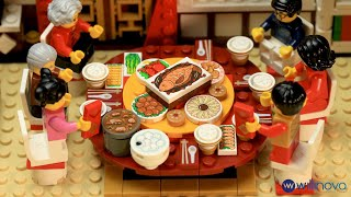 LEGO Chinese New Year Dinner - A Short Animation Film