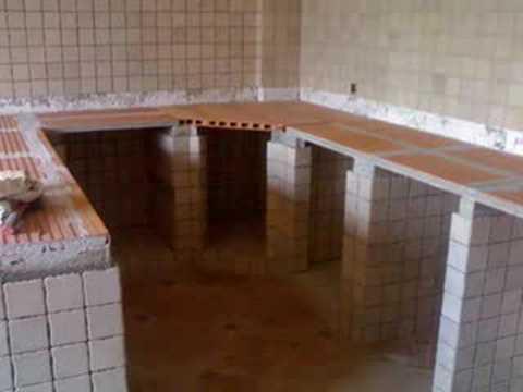 Gabinetes de cocina en cemento videos videos for Gabinetes en cemento