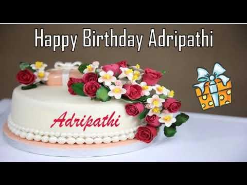 Happy birthday quotes - Happy Birthday Adripathi Image Wishes